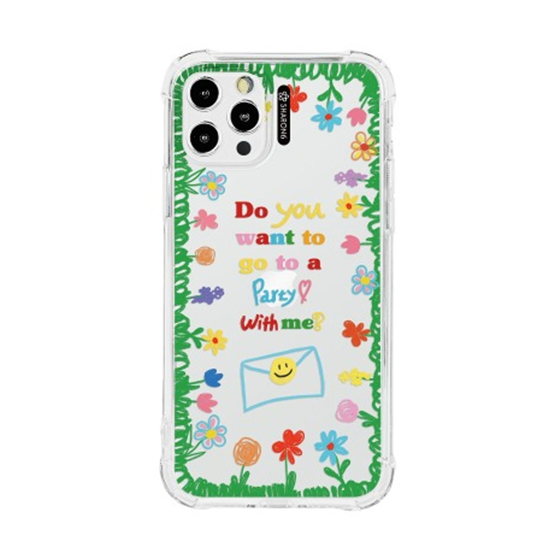 設計款手機殼-繽紛花園 (iPhone-12/ 12 Pro)