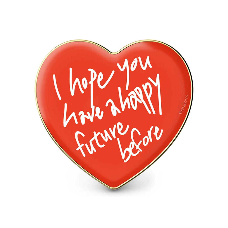 手機氣囊支架-愛心款-紅愛心