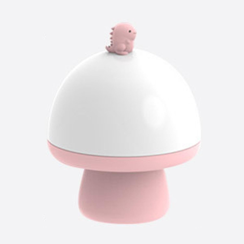 音樂投影奇幻小夜燈-恐龍-粉紅 (16.1X12.5cm)