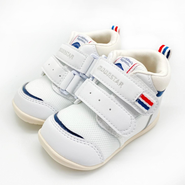 護踝機能學步鞋(寶寶段)-白 (12.5cm)