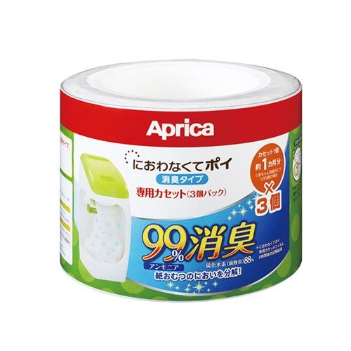 日本 Aprica 尿布處理器專屬替換用膠捲-3入