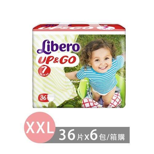 Libero麗貝樂 敢動褲-7號 (XXL [16~26kg])-36片x6包/箱