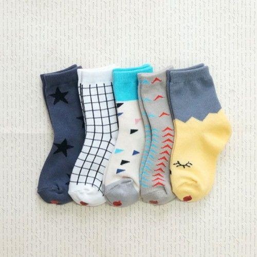 韓國製踝襪-五件組-Lululu socks (XS [11cm以下])