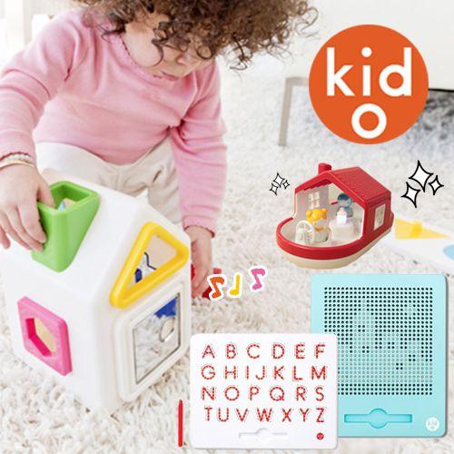 新生寶寶也能玩 ❤ 美國 Kid O 聲光玩具