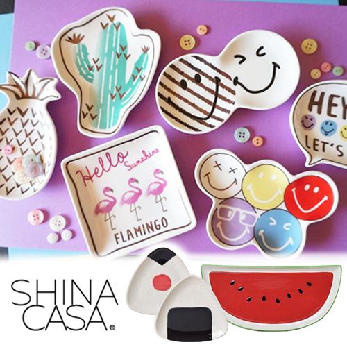 C/P 值爆棚 ♥ 日本 SHINA CASA 和風食器~打造日系家居!