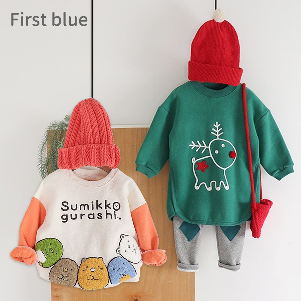 正韓 First Blue ♡ 男女寶休閒裝,還有角落生物!