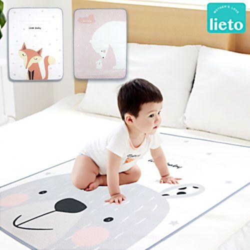 韓國 Lieto Baby ♡ 有機棉/無螢光棉防水保潔墊 ♡