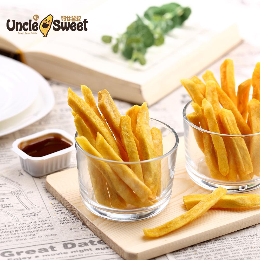 嘴饞不罪惡!【阿甘薯叔】地瓜脆片、脆薯、營養地瓜麥片