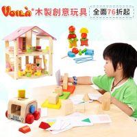 泰國 Voila 木頭成長玩具