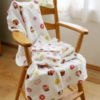 夢幻下午茶紗布浴巾 (62x124cm)