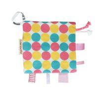 Edenswear 伊登詩 - 鋅健康嬰兒響紙口水巾安撫巾-點點