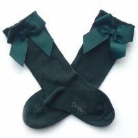 西班牙 Carlomagno - 童襪-蝴蝶結-翡翠