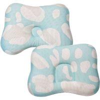 COMFi - 透氣嬰兒定型枕 0~18個月+透氣嬰兒定型枕 3~24個月-薄荷綠
