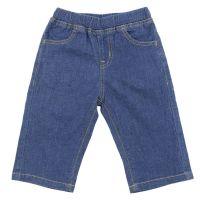 akachan honpo - 兒童布帛五分褲-深藍色