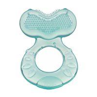 Nuby - 小魚軟質固齒器-藍綠