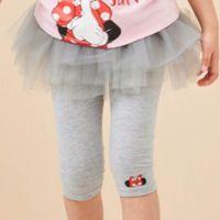 麗嬰房 Disney - 米妮系列跳舞女孩假二件蓬紗裙-麻花灰