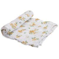 美國 Little Unicorn - 純棉紗布巾單入組-鄉村玫瑰