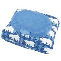 akachan honpo - 兩用FUTAP濕紙巾收納袋-北極熊