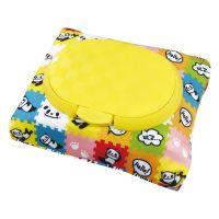 akachan honpo - 兩用FUTAP濕紙巾收納袋-熊貓