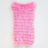 美國 Chic Baby Rose - 純手工蕾絲連身裝-淡粉