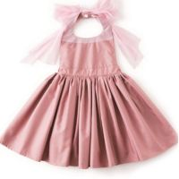 MARLMARL - Bouquet 花朵用餐圍裙-粉紅 (Baby (80-90cm))
