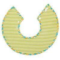 MARLMARL - 微笑圍兜兜-法國市集系列-粉黃小花 (脖圍25-28cm)