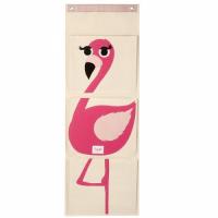 壁掛式收納袋-火紅鶴