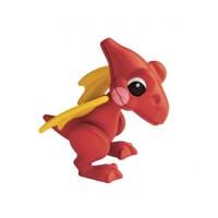 動物公仔-翼龍-紅色