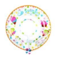 G1嬰兒游泳脖圈-雪糕 (1-18個月,13kg以內)