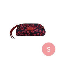 PAZEAL - Puffy Pencil Case-紅艷 (S)
