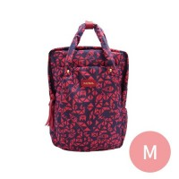 PAZEAL - Puffy Daily Backpack-紅艷 (M)