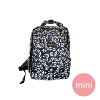 PAZEAL - Puffy Backpack-藍絲絨 (mini)