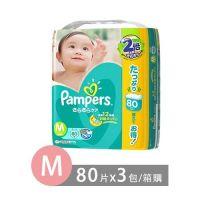 日本境內限定綠色巧虎幫寶適尿布-黏貼型 (M [6-11 kg])-80片x3包/箱