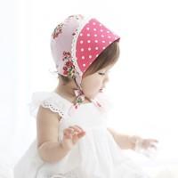 小紅花小花帽