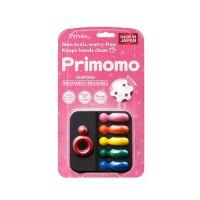 Primomo普麗貓趣味蠟筆(附橡皮擦)-皇后戒指-6色-1入組