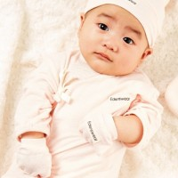 Edenswear 伊登詩 - 鋅纖維抗敏衣系列-嬰兒紗布肚衣-淺粉 (FREE)