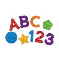 兒童益智教具-字母+數字+形狀磁鐵