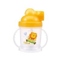 Simba 小獅王辛巴 - 自動吸管練習杯-溫暖橘