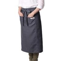 日本VERMICULAR - 有機棉圍裙-環保木炭染 (370g土5%)
