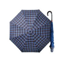 Weather Me - 印花精品雙骨專利反向傘-時尚黃格