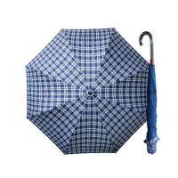 Weather Me - 印花精品雙骨專利反向傘-時尚藍格