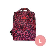 PAZEAL - Puffy Backpack -Puffy Aztec 2.0-紅艷 (L)