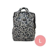 PAZEAL - Puffy Backpack -Puffy Aztec 2.0-藍絲絨 (L)