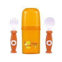 Simba 小獅王辛巴 - 環保衛生餐具組-溫暖橘