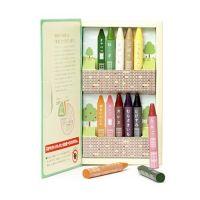 日本製10色蔬菜蠟筆-Standard