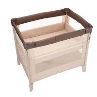日本 Aprica - COCONEL Air 任意床/可折疊移動式/可攜帶式嬰兒床-拿鐵棕 BR-新生兒起~2歲左右止