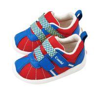 日本 Combi - 機能性幼兒鞋-微風暖洋-豔陽紅