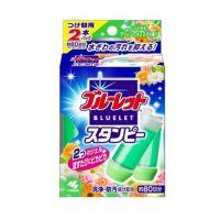 BLUELET馬桶清潔芳香凝膠補充管2入(鮮綠森林)-28g*2