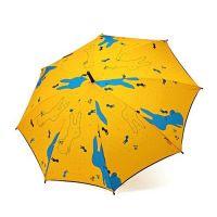 Weather Me - 螺絲兔子兒童傘-直傘/自動開傘-橘 (50cm*8K)