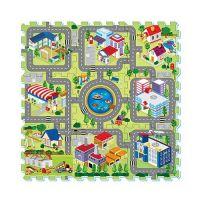 彩色印圖拼接墊-歡樂城市 (32x32cm)-9片